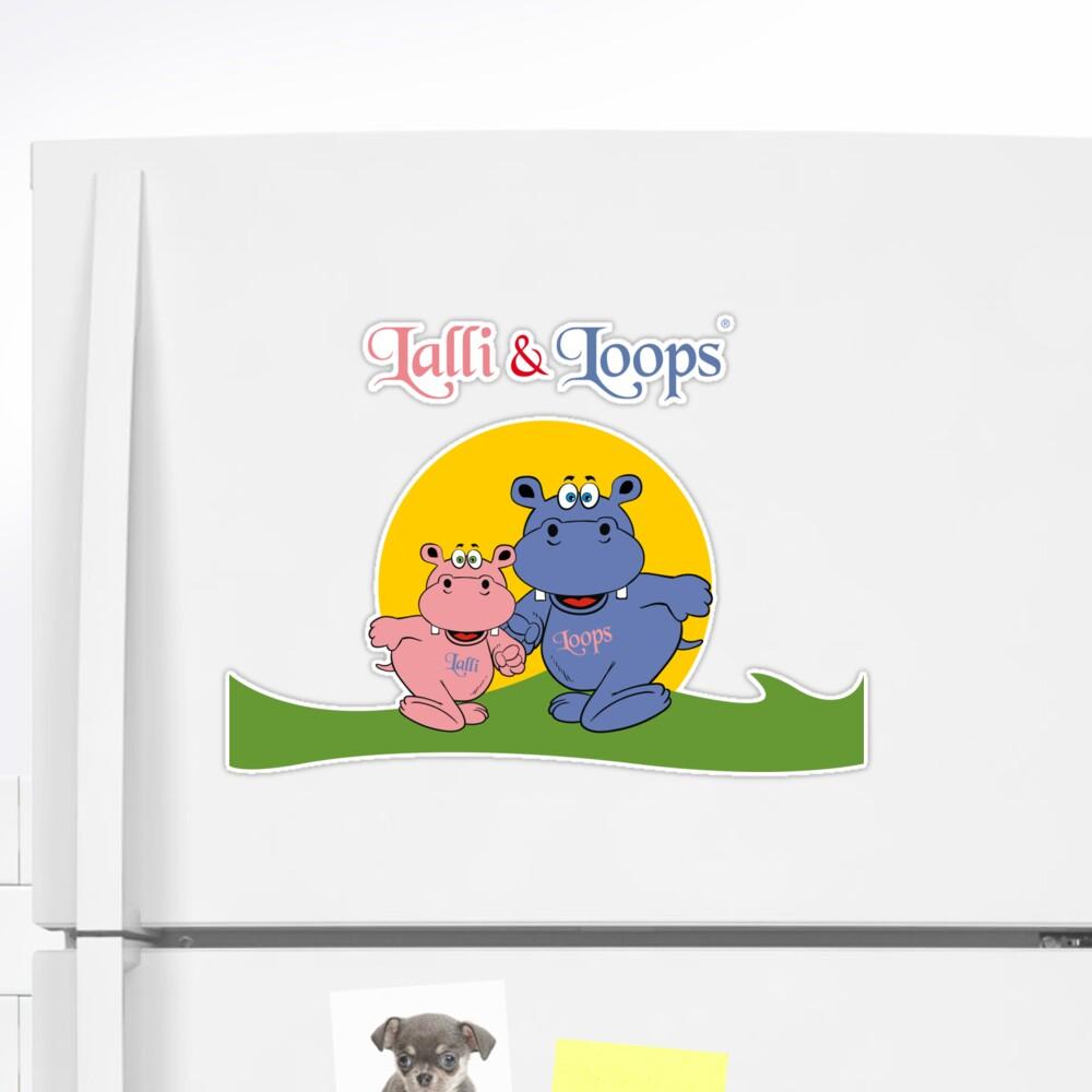 Hippos Nilpferde Lalli und Loops von Sandra Klinkowski