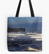 North Sea at Sandsend. Tote Bag