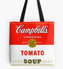 Andy warhol soup can mug Tote Bag