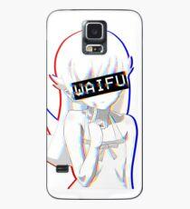 Shinobu Waifu Hülle & Klebefolie für Samsung Galaxy