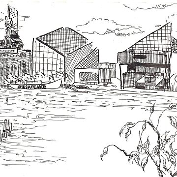 baltimore harbor by Luxfatale