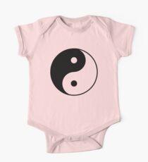 Asian Yin Yang Symbol One Piece - Short Sleeve