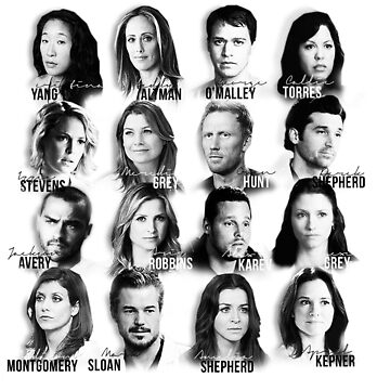 Greys Cast by GreysGirl