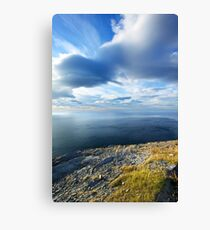 View from the Northernmost Point of Europe! Canvas Print