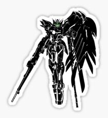 Wing Gundam-Green Glow Sticker