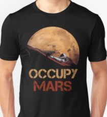 Occupy Mars Spacex Starman Unisex T-Shirt