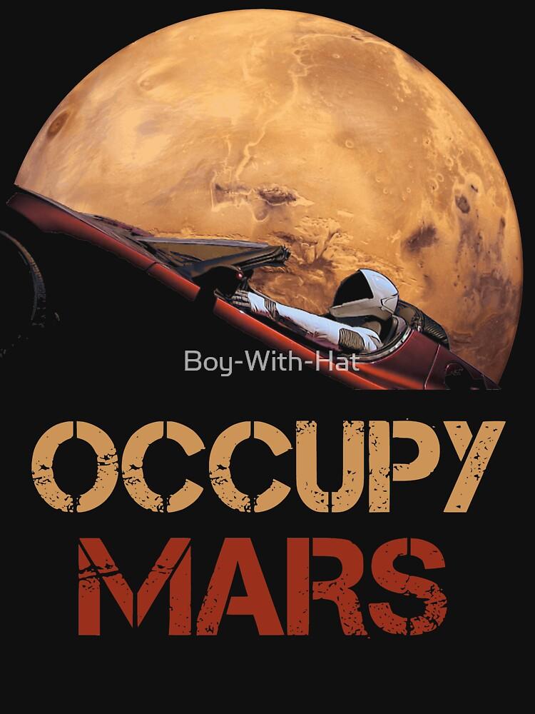 Besetze Mars Spacex Starman von Boy-With-Hat
