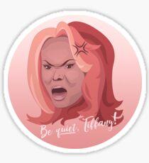 Tyra Banks' Anger Sticker