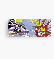 Roy Lichtenstein - Whaam! High Quality Metal Print