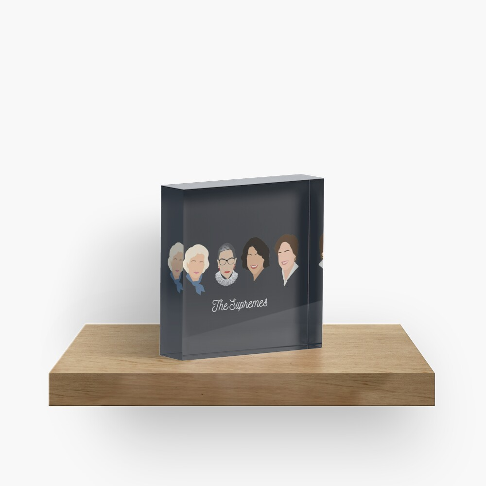 The Supremes Acrylic Block