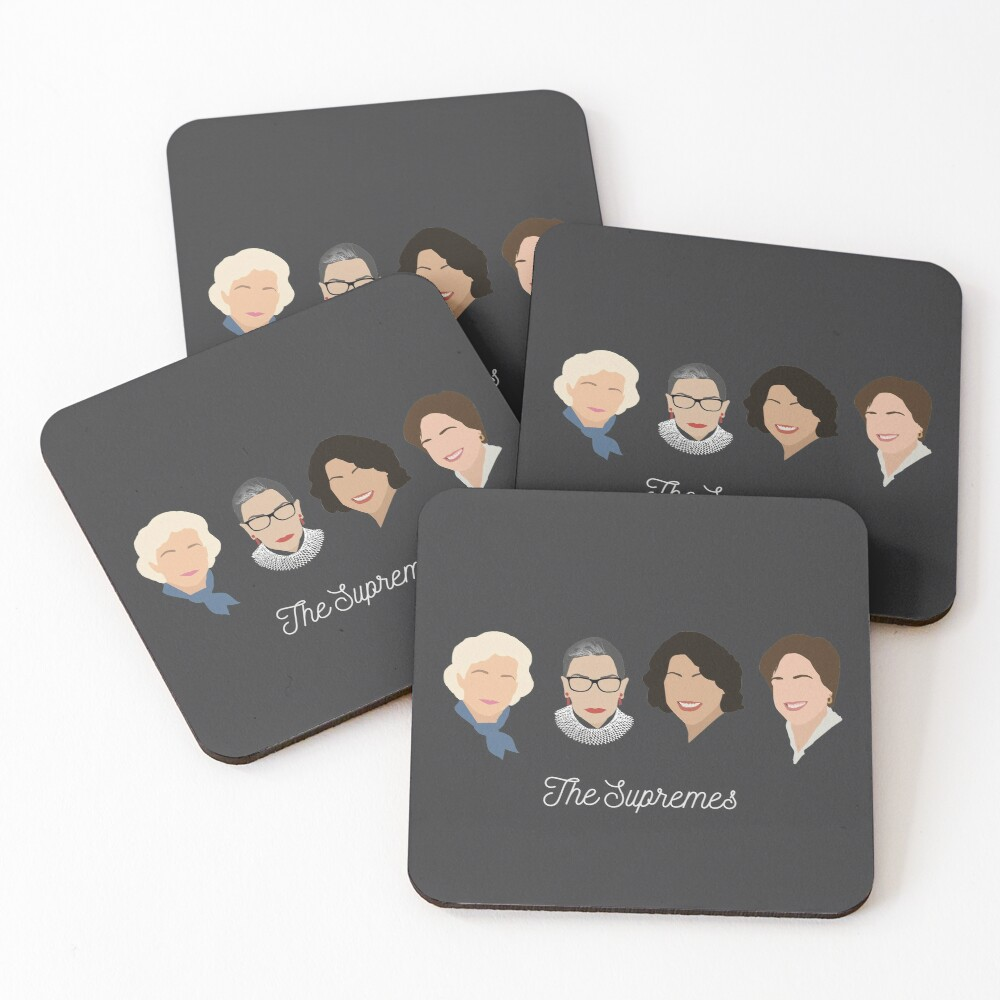The Supremes Coasters (Set of 4)
