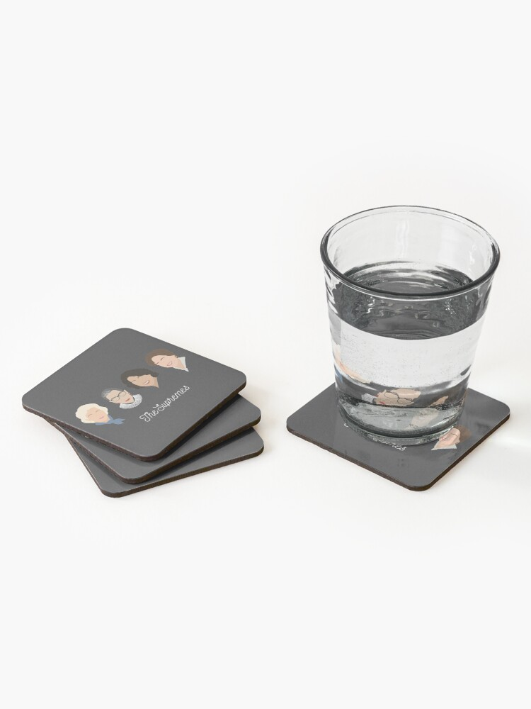 Alternate view of The Supremes Coasters (Set of 4)