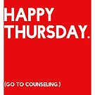 Thursday (GTC) Greeting Card by Robert Vore