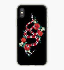 snake flower cute iPhone Case