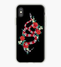 snake flower cute iPhone Case
