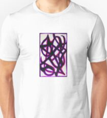 Abstract Purple Delightfully Pure Passion  Unisex T-Shirt