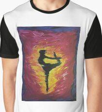 ballerina in flight Graphic T-Shirt