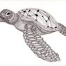 Tangled Sea Turtle by Christianne Gerstner