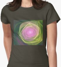 Organza Womens Fitted T-Shirt