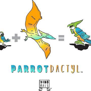 Parrotdactyl Math by Dinomals