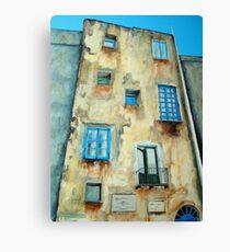 Old Building medieval quarter - Capri Canvas Print