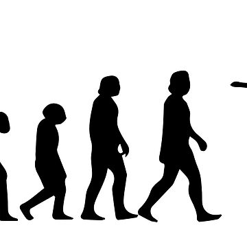 from human to skateboarder evolution by wi-se-man