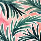 Lush Tropical Palm Paradise by crystalwalen