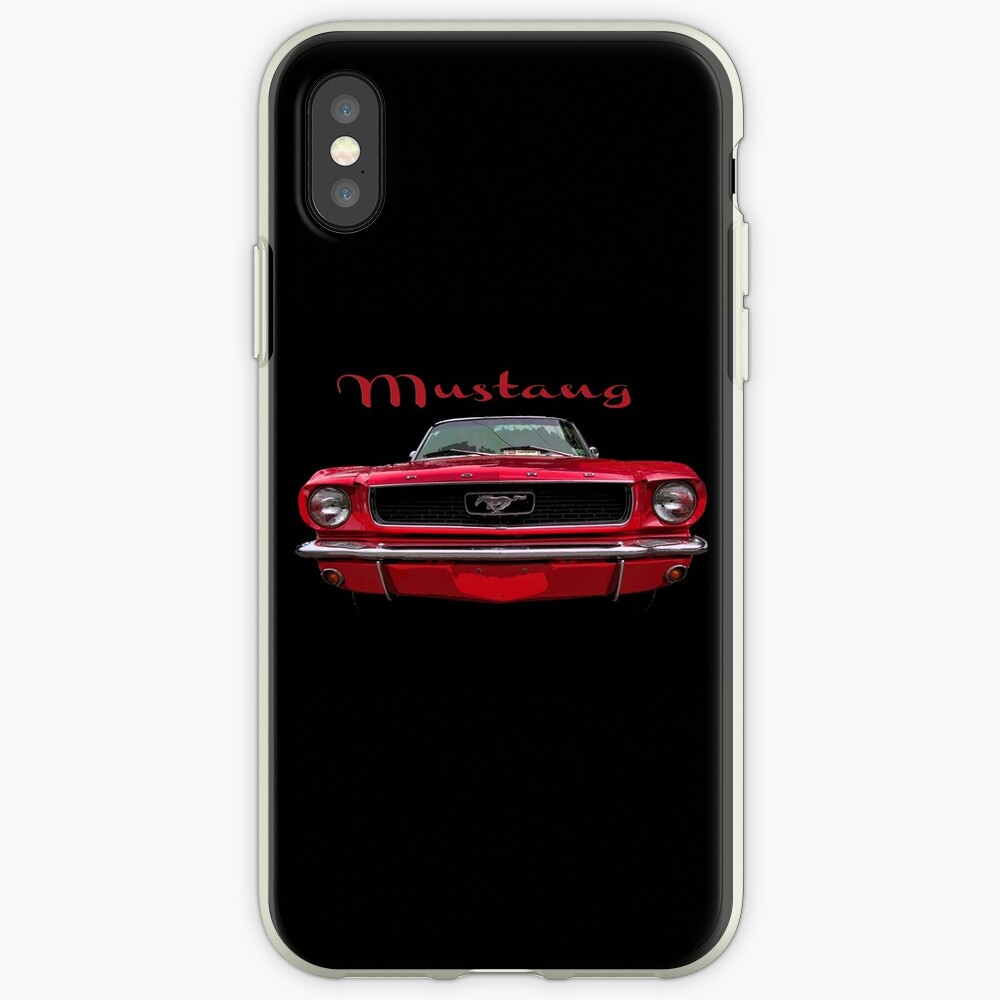 Little Red Mustang iPhone Case & Cover