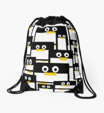 Penguin Diversity Drawstring Bag