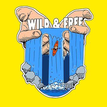 Wild & Free Kayak Canoe. by timstriker