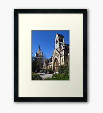 Jak Church and Vajdahunyad Castle Framed Print