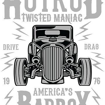 Hotrod Twisted Maniac - America's Bad Boy - Custom Classic by flipper42