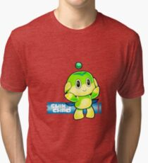 SEGA Sonic the Hedgehog Chao Normal Swim Type Sonic Adventure 2 Battle Tri-blend T-Shirt