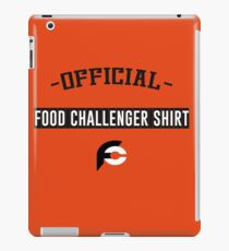 Official Food Challenge Shirt - For The Real Challengers iPad Case/Skin
