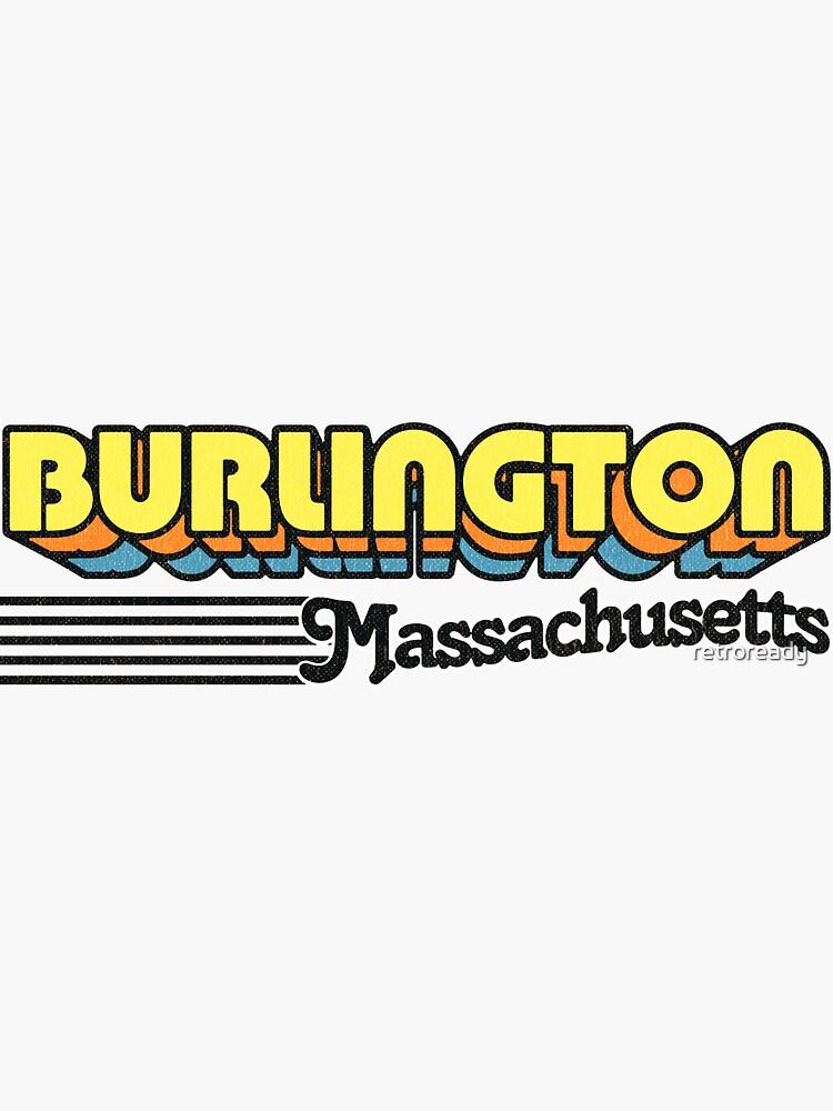 Burlington, Massachusetts   Retro Stripes by retroready
