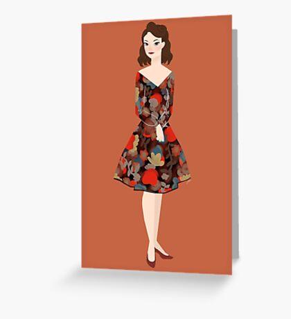Lena Hoschek Greeting Card