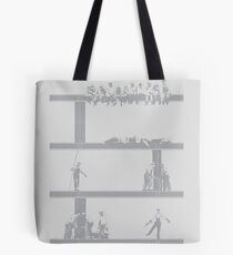 IronWorkers Grey Tote Bag