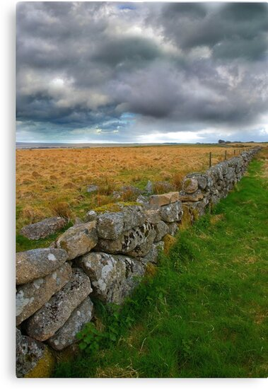 Dry Stone Wall by Mark Bowden