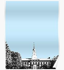 Bucknell University Bertrand Library Design Poster Poster