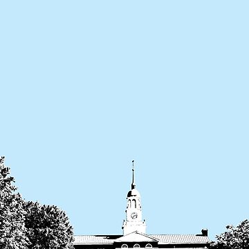 Bucknell University Bertrand Library Design Poster by Claireandrewss
