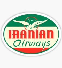 Iranian Airways Sticker