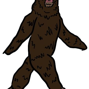 Bigfoot by GinaLaskey