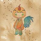 Kigurumi Chinese Zodiac: Rooster by Sophia Adalaine Zhou