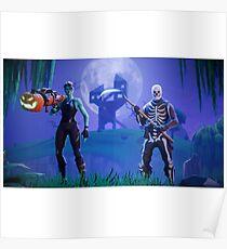 Fortnite Battle Royale Poster Poster