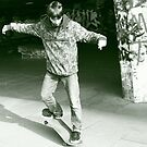 The Skateboarder by powerball225