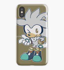 Chibi Silver the Hedgehog iPhone Case/Skin