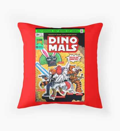 DINOMALS Cover Throw Pillow