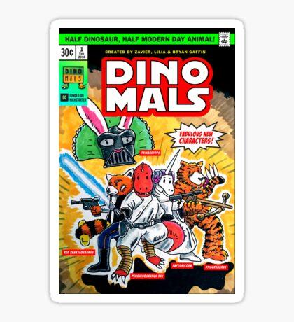 DINOMALS Cover Sticker