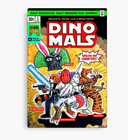DINOMALS Cover Canvas Print