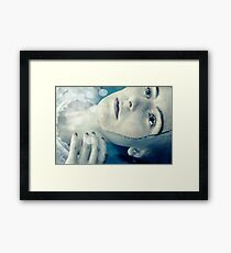 The Cold Welcomes Me Framed Print